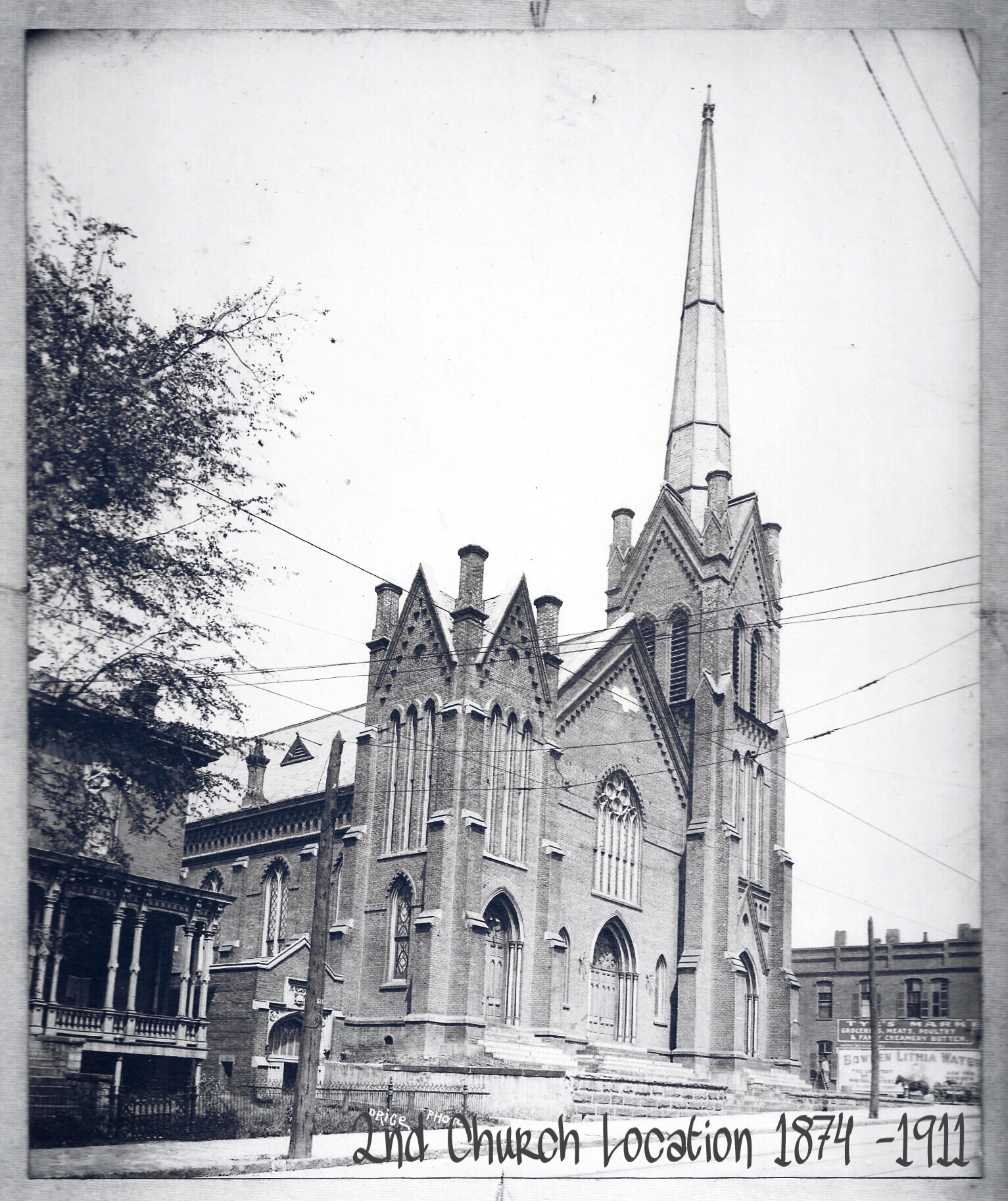 1874 Church Location 2nd Building