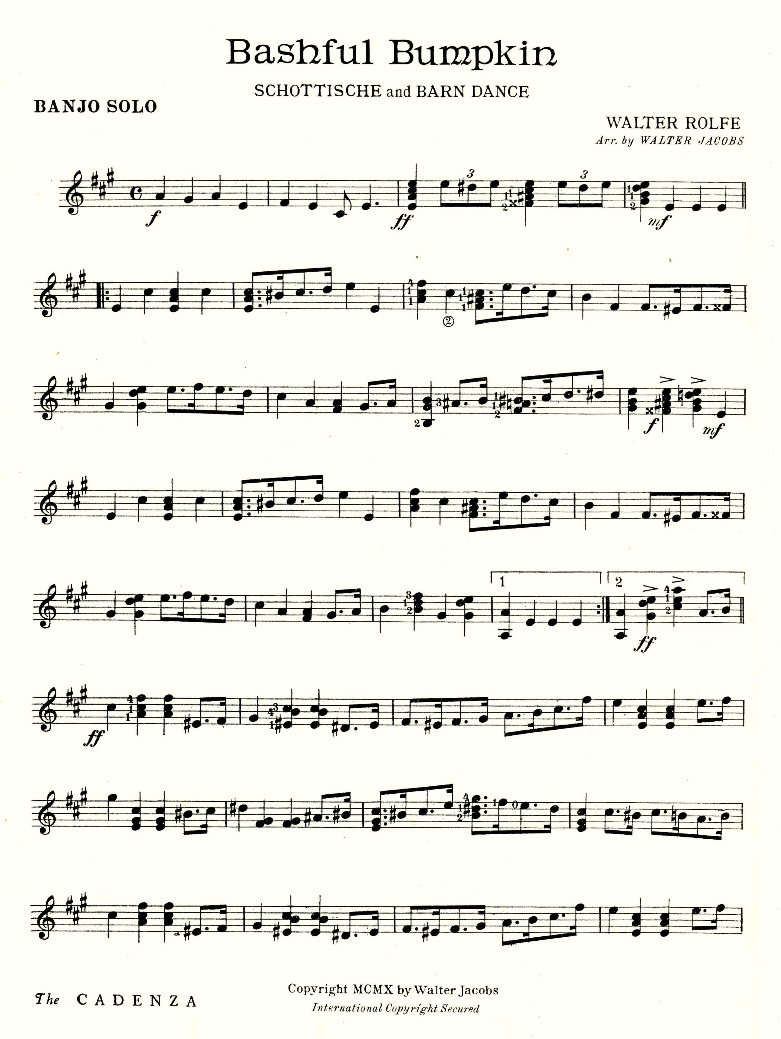 The Cadenza , February 1910, Vol. XVI No. 8