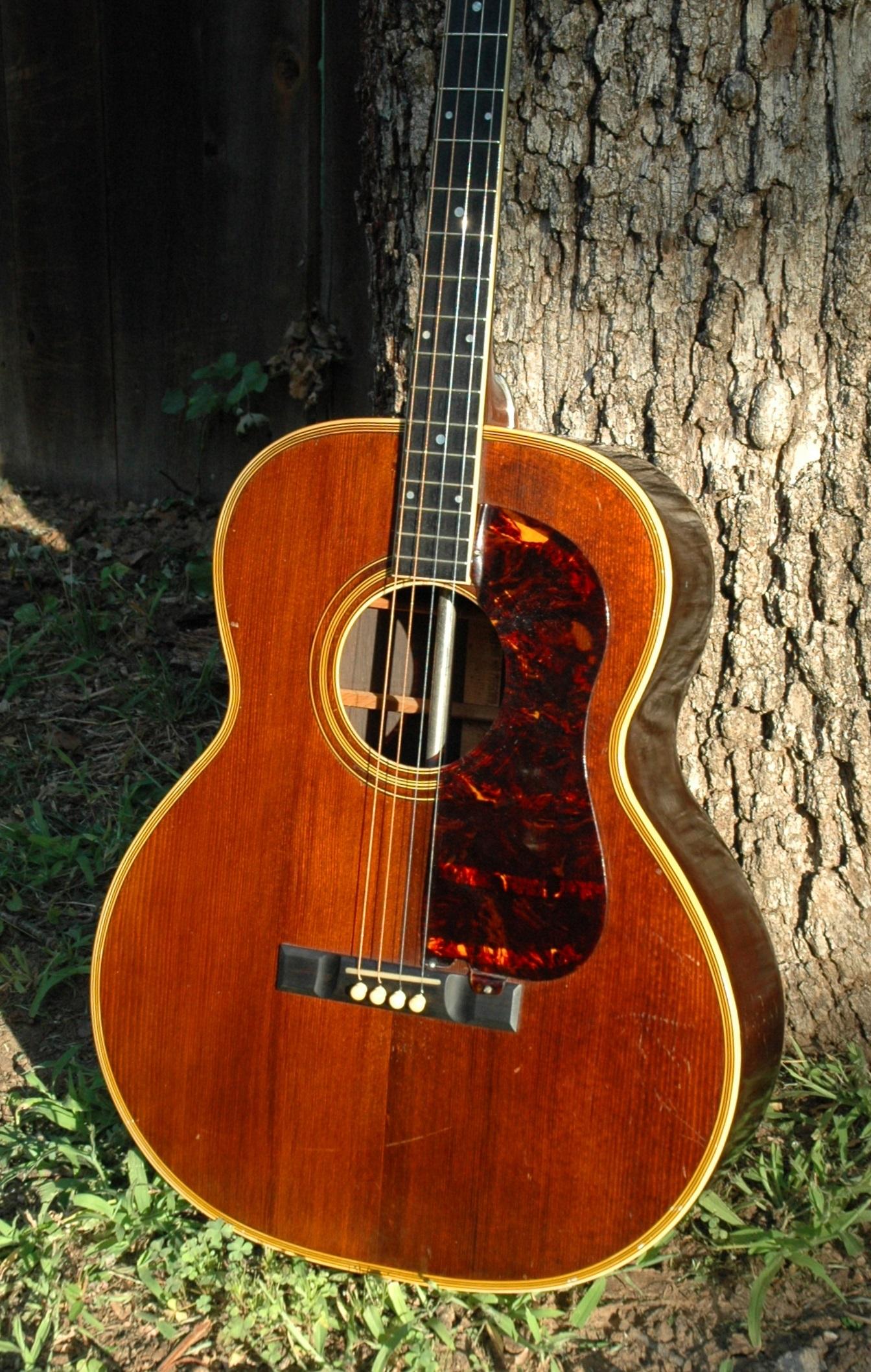 c1934 Prairie State Four String Guitar