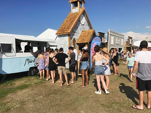 750L of Ice cream, 4 days and loads of new friends. @festival_one you were a gem!! See you next year ❤️🍦👋🏻 . . . . . . #festivalone #festival #summer #fun #friends #christian #icecream #vintageicecreamcaravan #vintageicecreamtruck #foodtrucknz #foodcaravan #themarilynnz