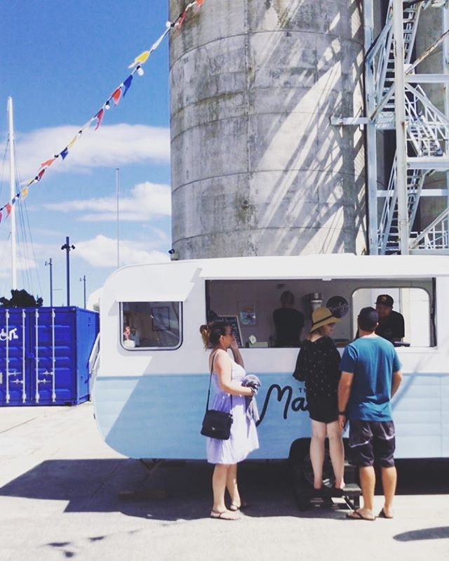We love being tagged in your snaps ❤️ you guys take some great pics!! . . . . #regram #caravan #vintage #retro #silopark #catalina #3sacrowd #icecream #summer #sunshine #art #foodcaravan #foodcaravan #foodie #auckland #fringefestival #themarilynnz