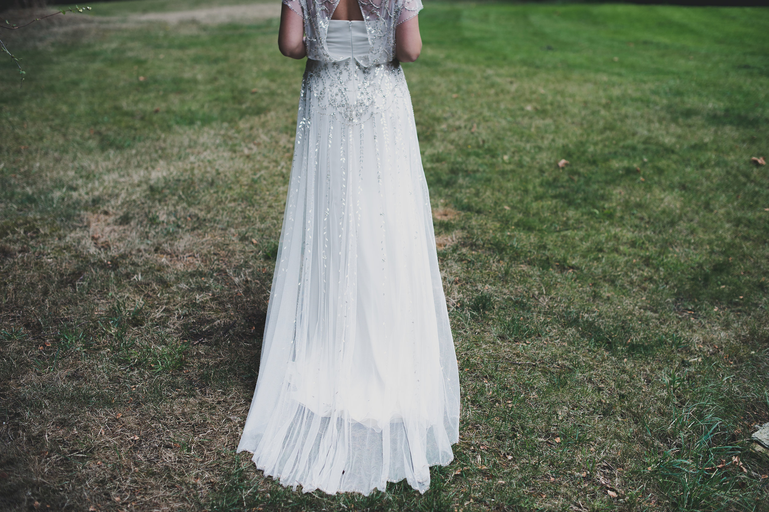 2 years ago today. Bride wears  Jenny Packham  ( The Dress Theory ). Photo by  Rebecca Lindsay Photography .