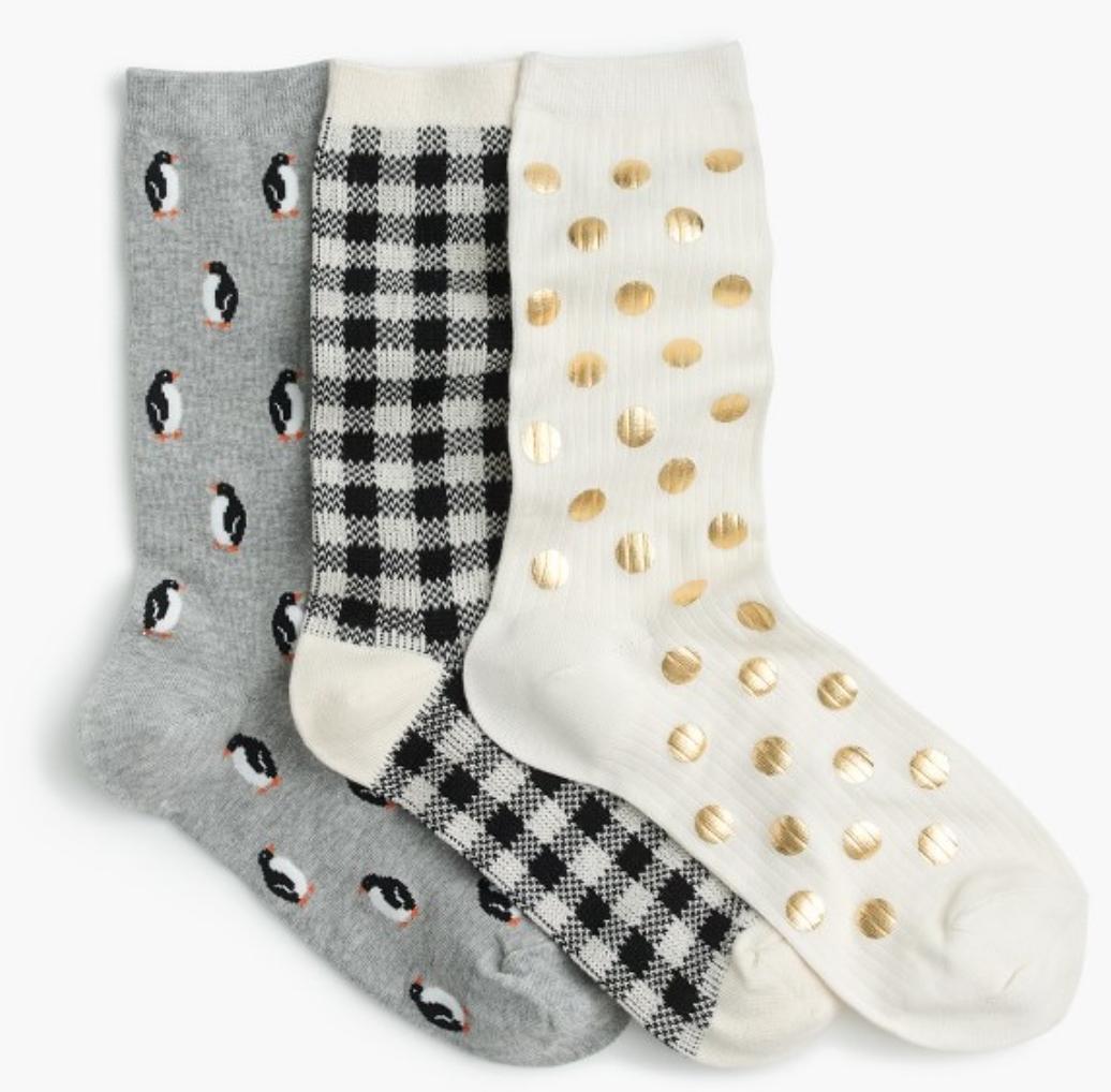 Three Sock Set  $38 CAD