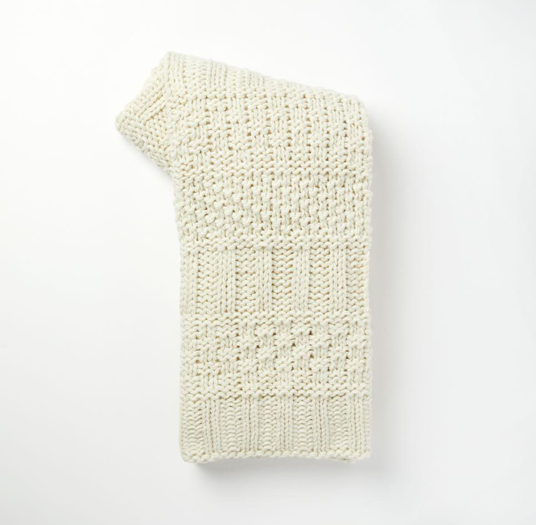 Knitted Throw  $66 CAD