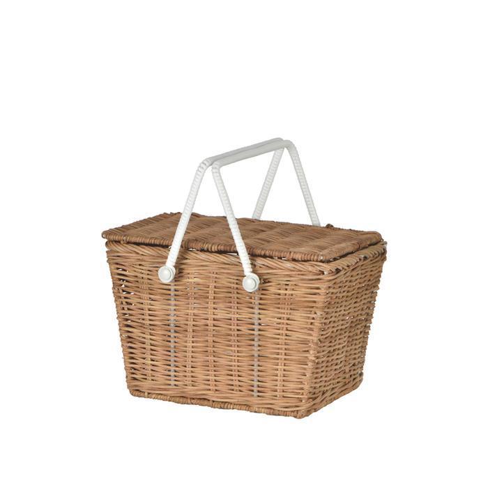 Piki Basket Natural by Olliella $48