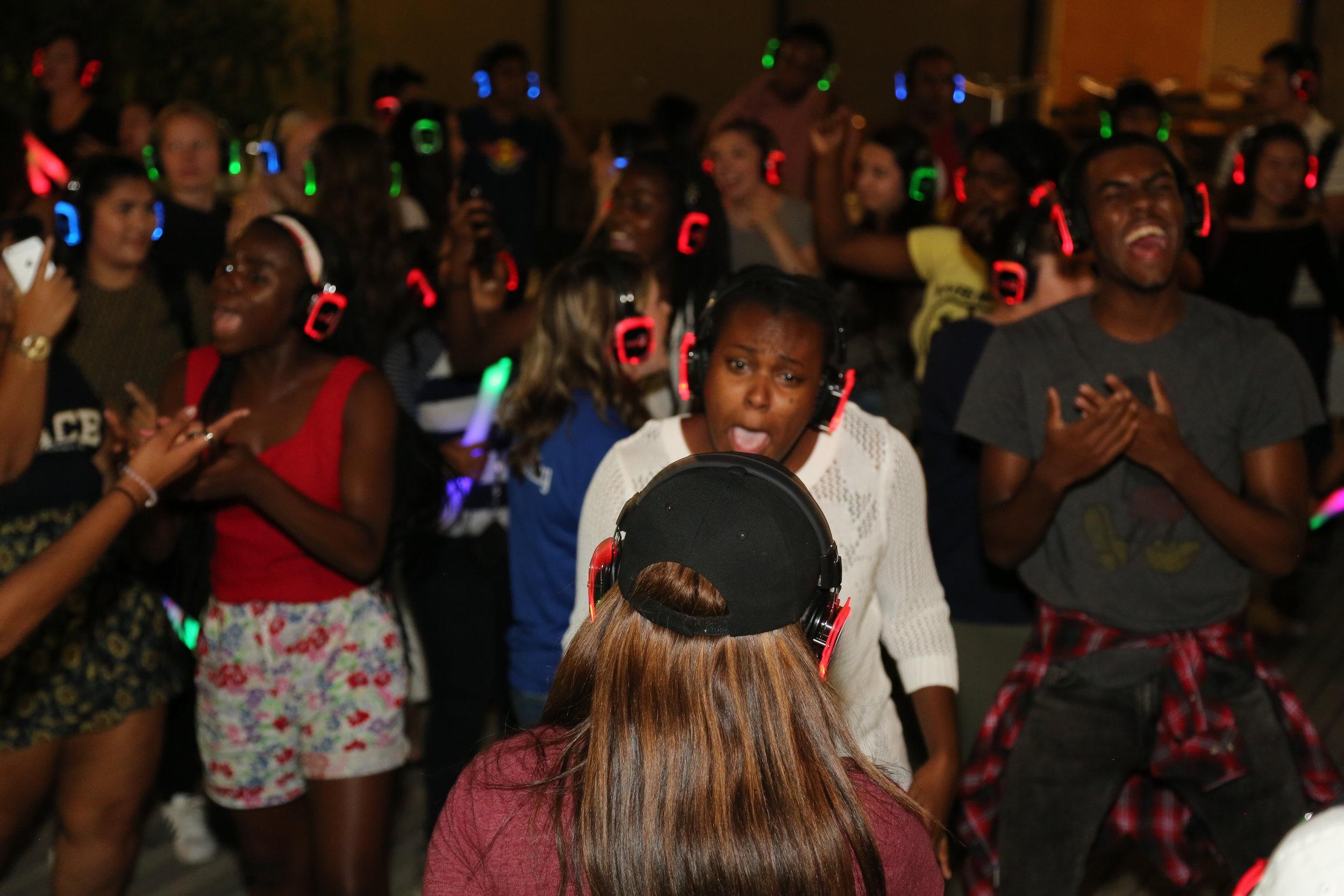 Pace University Silent Party 2017