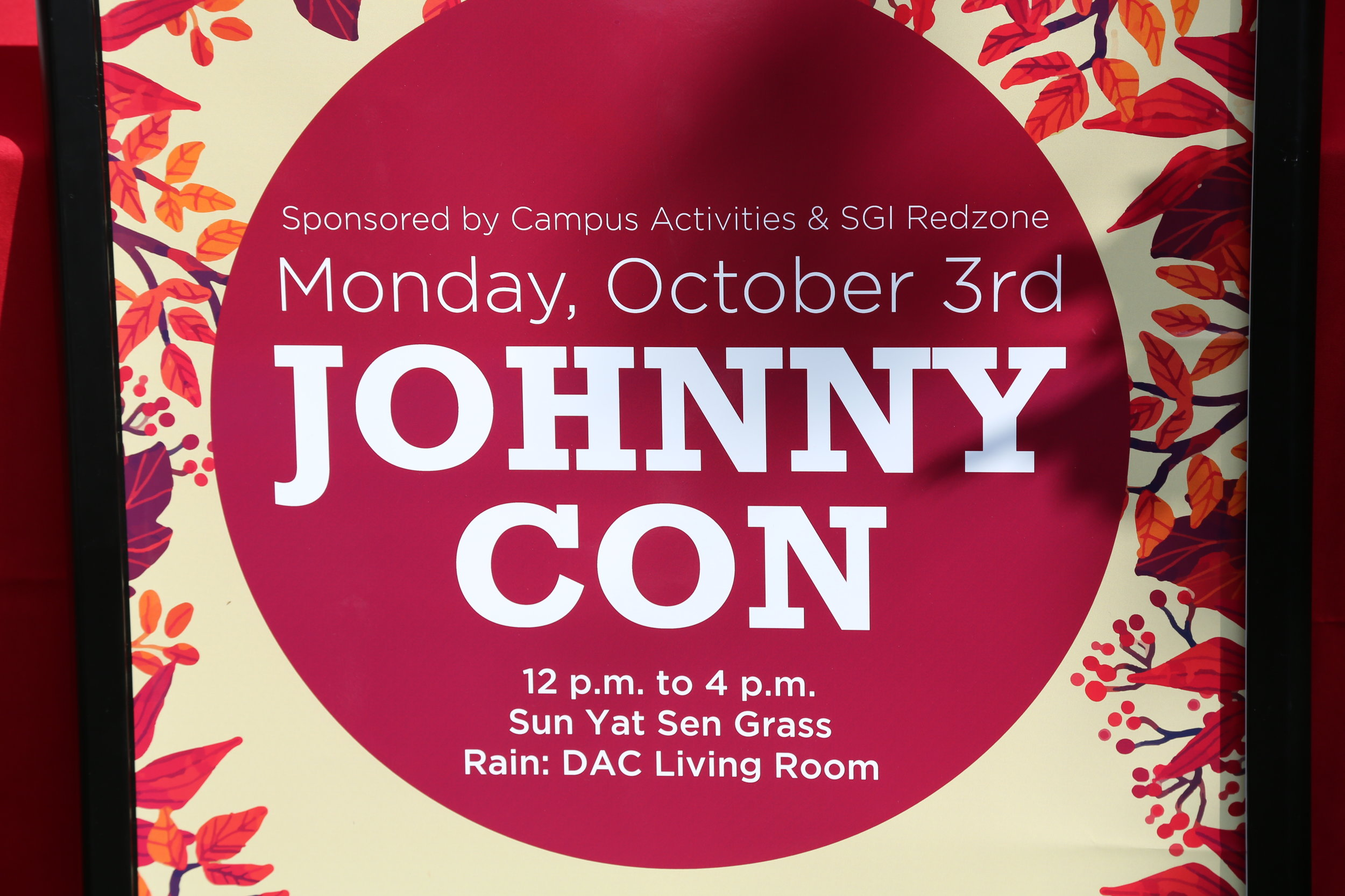 St John's -Johnny Con 10/2/2016