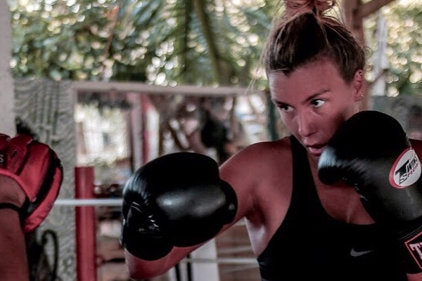 Esmé Harvey  British born with African roots. On a continuous hustle for the muscle. You're likely to find her in a gym, rescuing a dog, squatting or traveling.