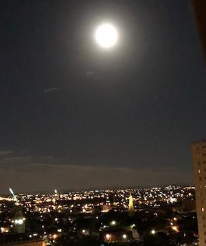 full moon over collingwood