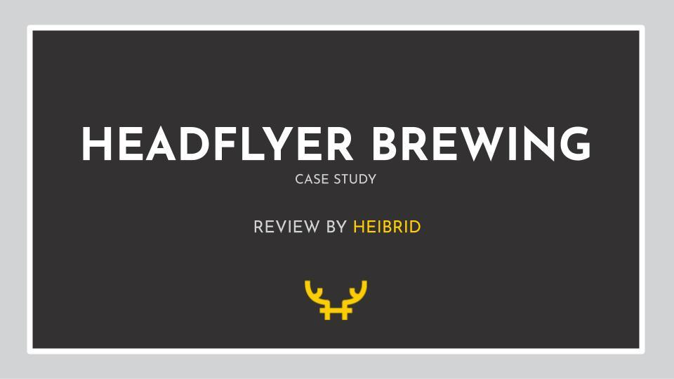 HeadFlyer Case Study