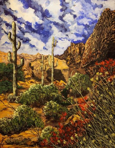Arizona by Barbara Bainard (Acrylic) | $200