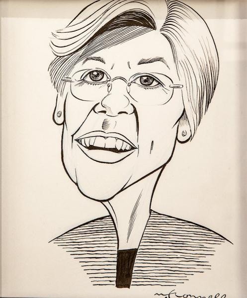 Senator Elizabeth Warren by Dan McConnell | $125