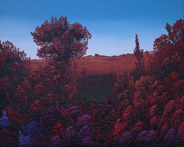Crimson Dream by Randy Adams (Acrylic) | $150