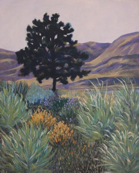 Lone Pine by Marti Lyttle (Acrylic) | $400