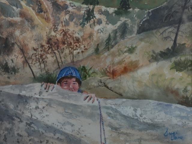 Here I Am by Suzi Lane (Watercolor) | $150