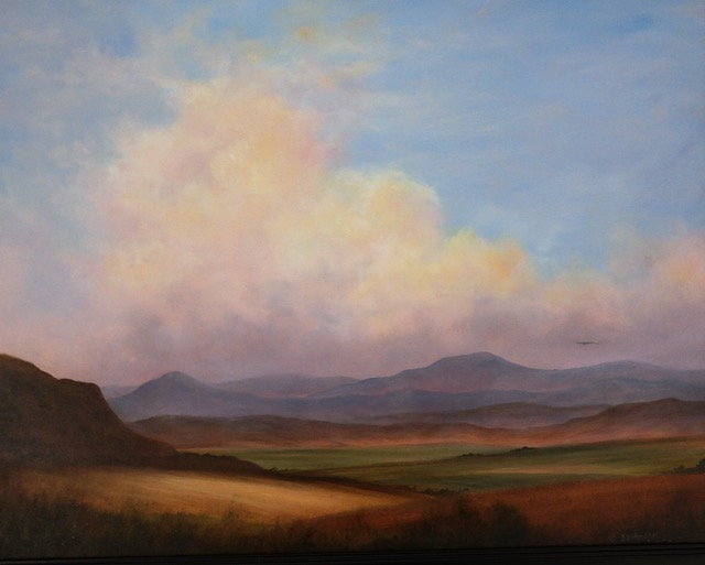 Beautiful Valley by Jeanne Johnson (Oil) | $875