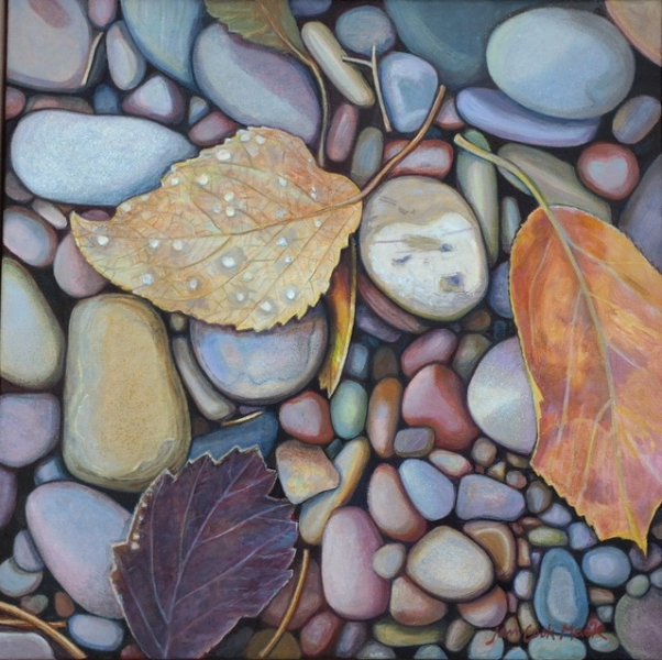 Angel Wings - Lake McDonald with Linda at Glacier Park by Jan Cook Mack | $800