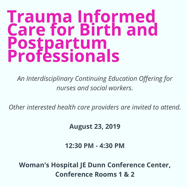 🎶I'm leaving on a jet plane, I don't know when I'll be back again.🎶 Actually, I do know when I'll be back 🤣 but I am flying to my hometown with @courtneybuttsdoula to teach trauma-informed care to a room full of medical professionals at @womanshospital and I'm stoked! Turns out other interested health care providers are invited to attend so I added the ticket link to my bio ⤴️ #traumainformed #improvingbirth