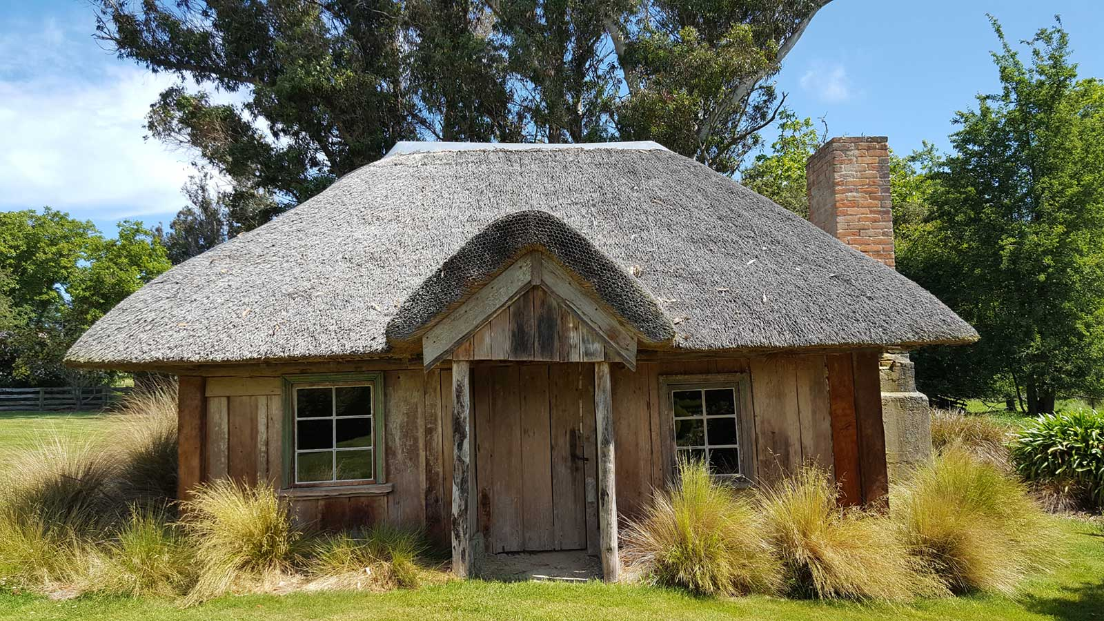 The Cuddy. Built in 1854 for Michael Studholme, owner of Te Waimate Station.