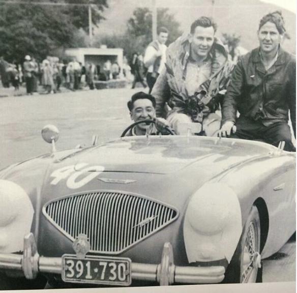 Legend Bruce McLarens victory lap