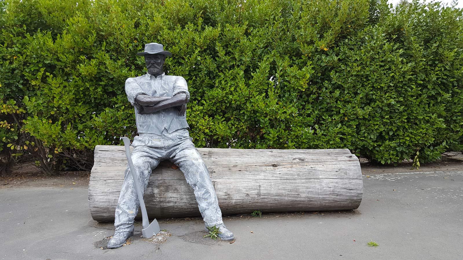 The Bushman Sculpture