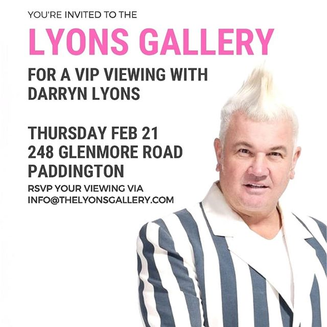 @lyons_gallery #tonight