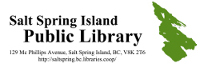 This event is co-sponsored by Salt Spring Island Public Library