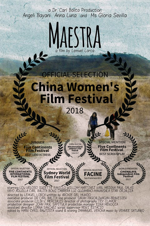 Maestra     Three generations of courageous women will teach you the most important lessons in life. A poor dreamer who reaches the top, an Aeta teacher who dreams of passing the...  Read More