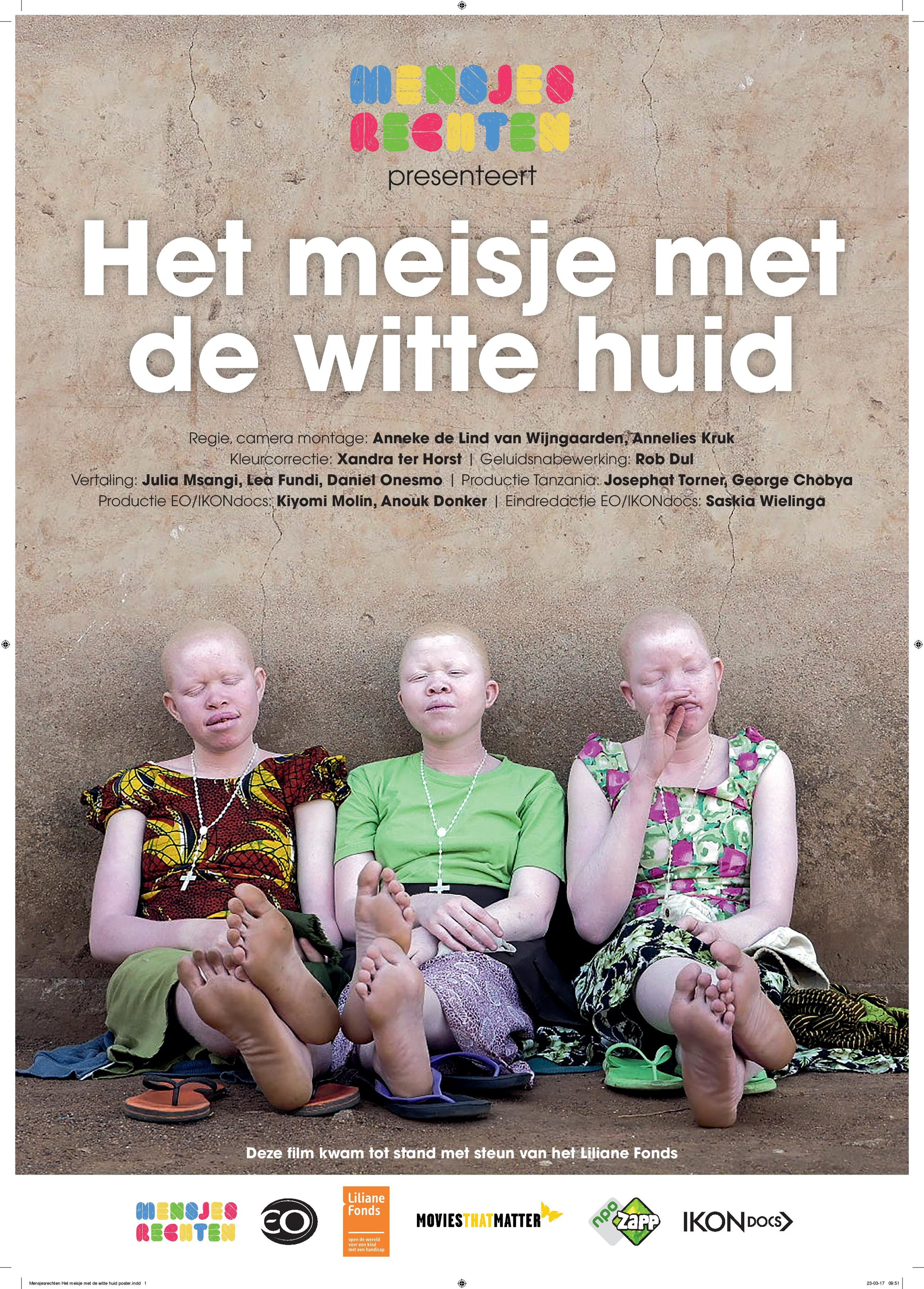 The Girl with the White Skin    As an Albino-child living in Tanzania, Anastazia is constantly at risk of being kidnapped and killed. In some African countries, Albinos are considered...  Read More
