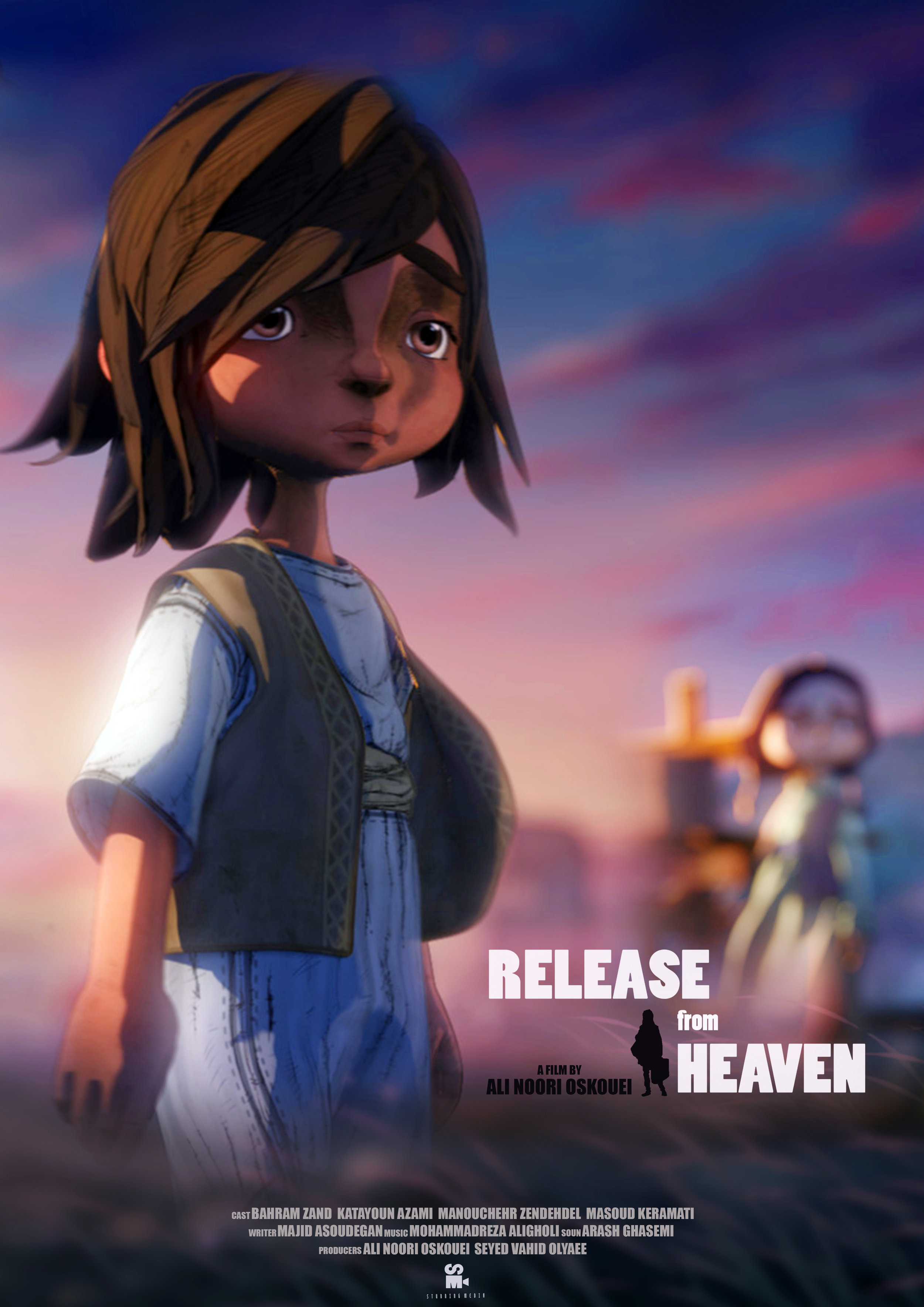 Release from Heaven    In a war-torn country, a female teacher lives with her students in a boarding school. To calm horrified children, she tells them a story...  Read More