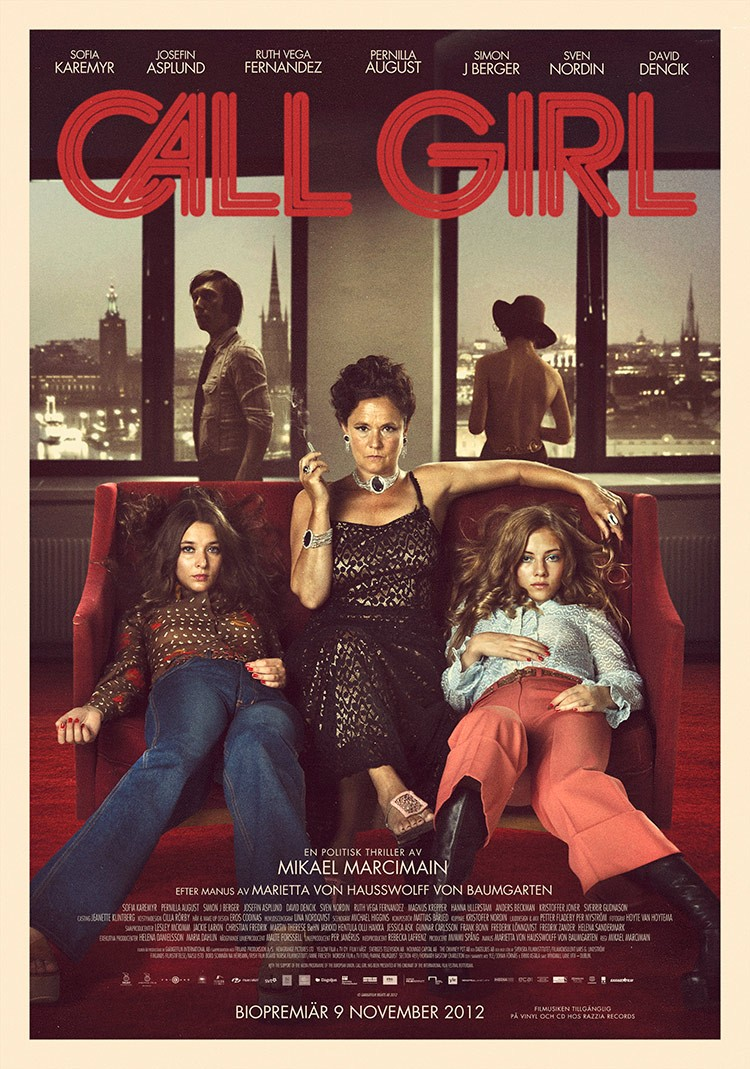 """Call Girl    Call Girl is a fictionalized version of events based on the so-called """"Bordellhärvan"""" political scandal in 1970s Sweden, which linked several...  Read More"""