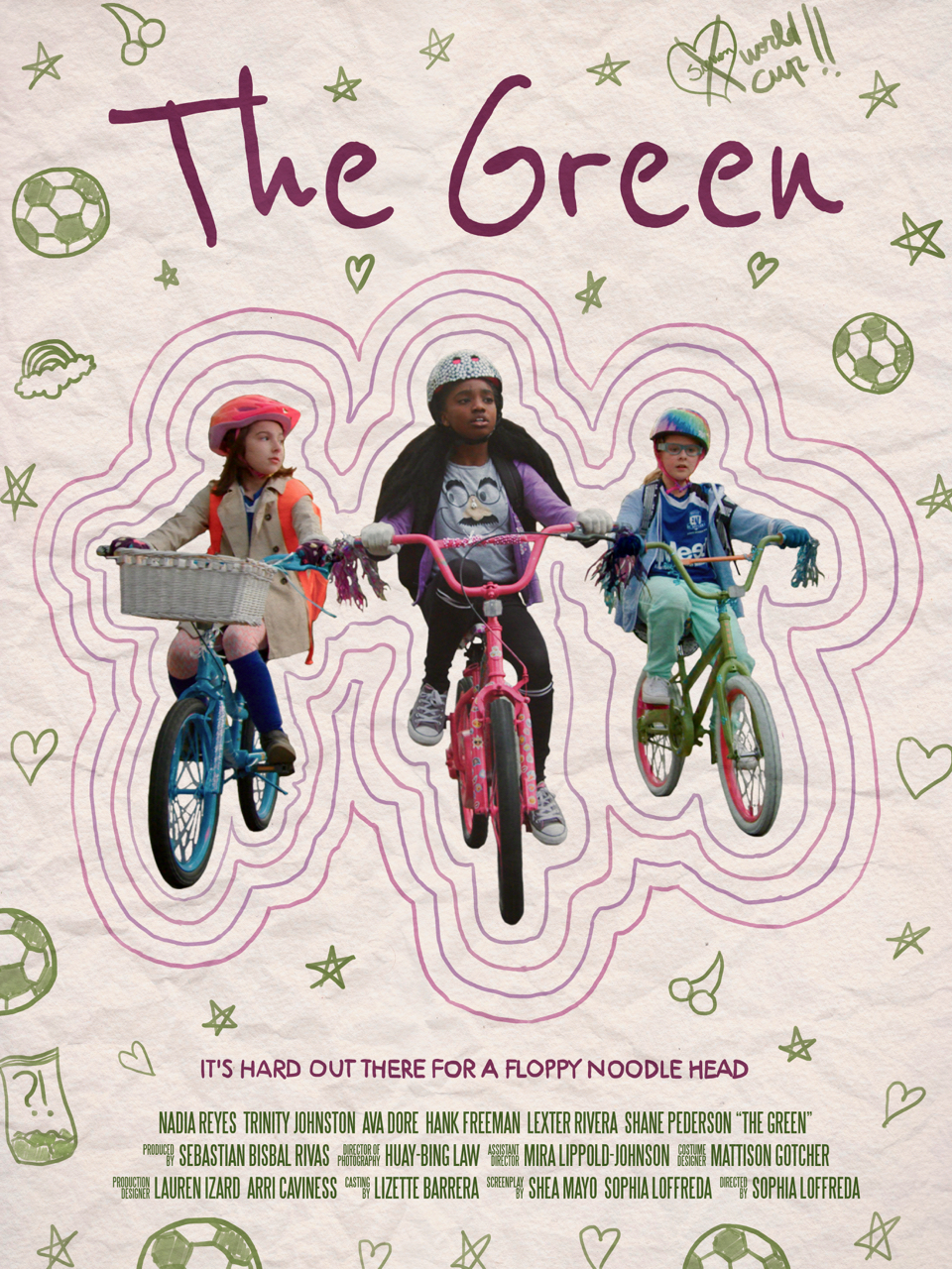 The Green    When 10-year-old BFFs Cherry Cake, Franny and Starla find a bag of marijuana on the soccer field after practice, they hatch a foolproof plan to sell the greenery to their suburban town's fabled drug dealer…   Read More