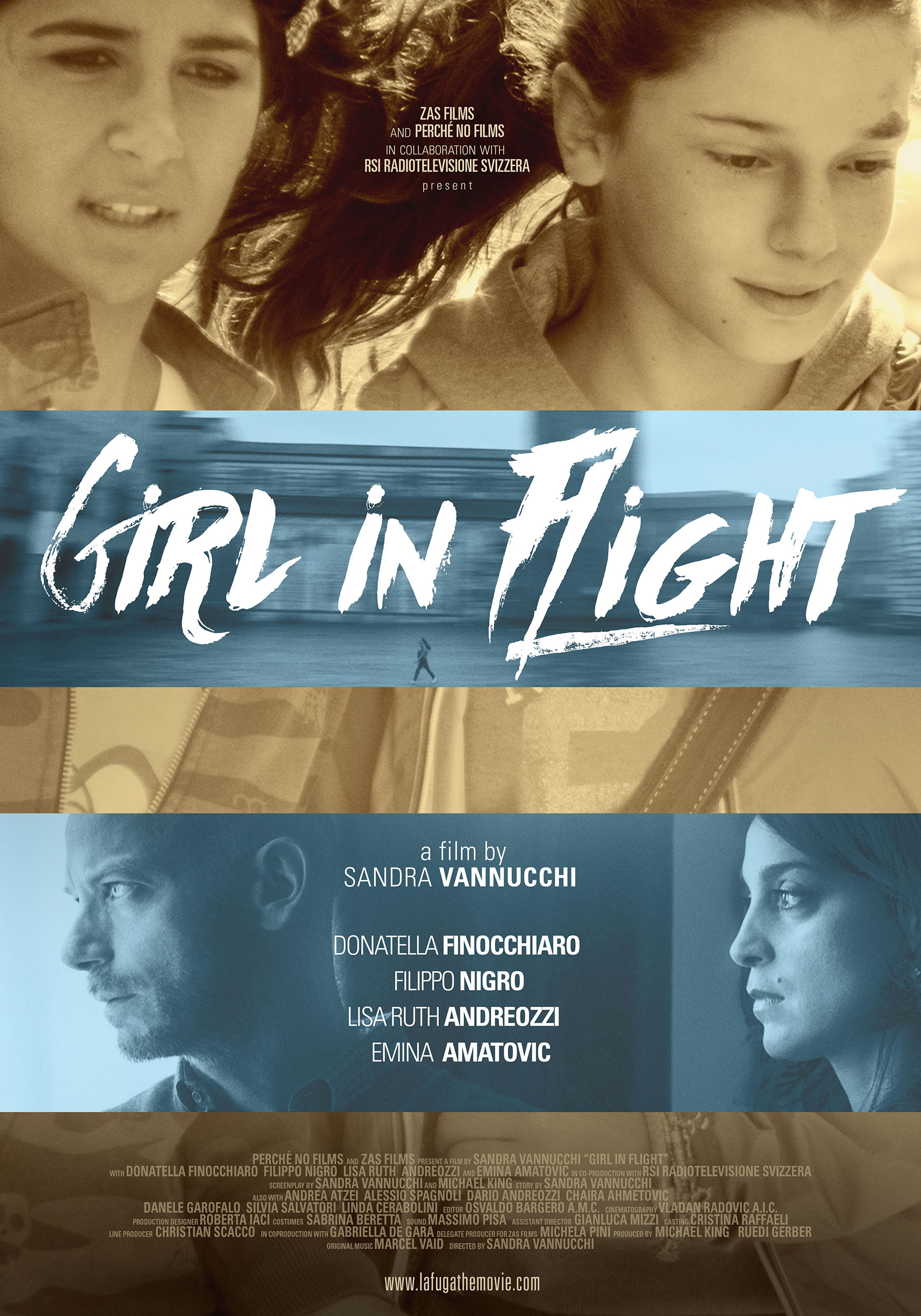 Girl In Flight    Inspired by real events, Girl in Flight – La Fuga is the story of 11-year old Silvia whose life at home is consumed by her mother's clinical depression…   Read More