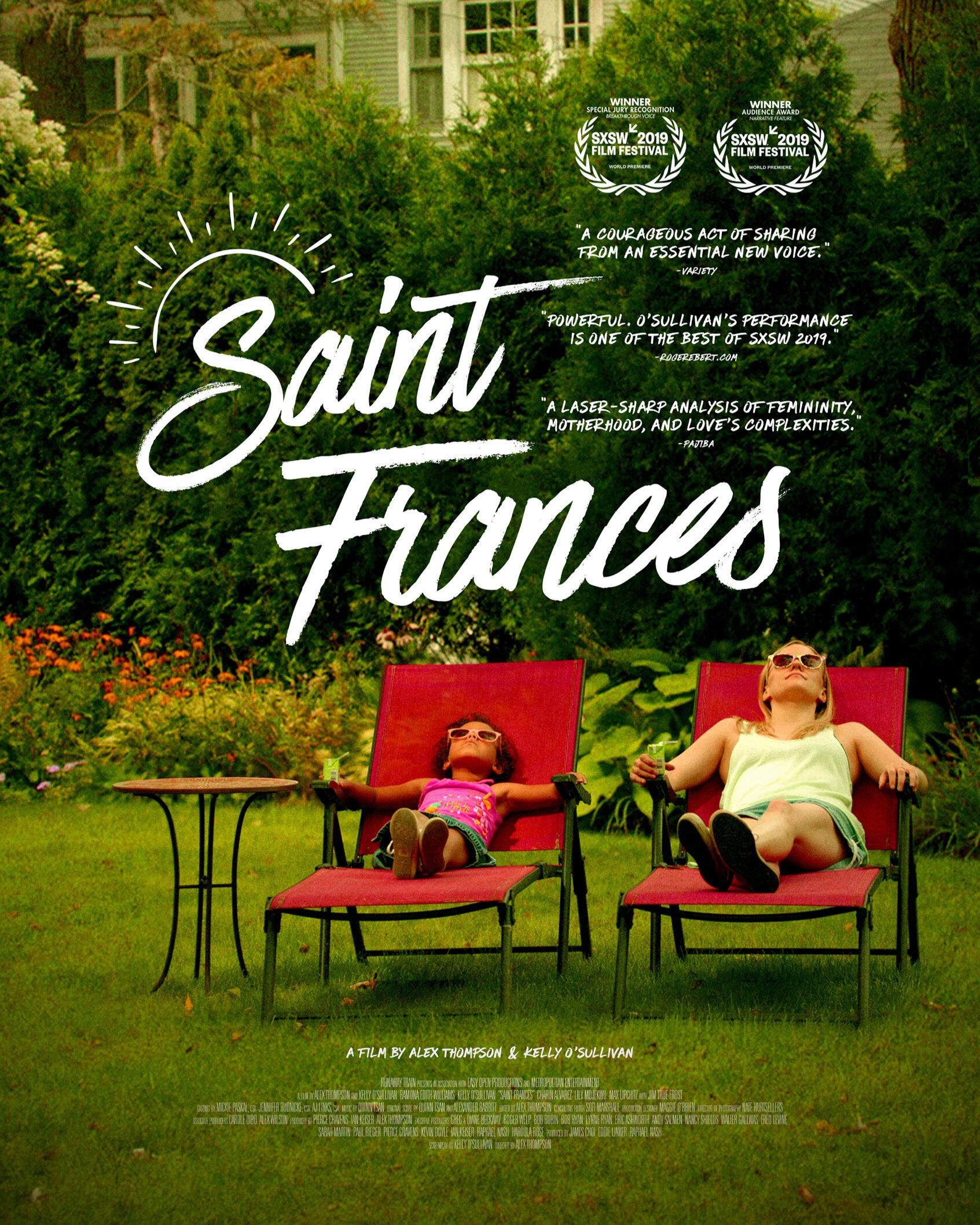 sAINT fRANCES -