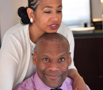 Nkechi Oba, UK - I'd been in a long term relationship with my sons' father and couldn't do the deed despite 20 years together and 2 sons.It took that time we spent together to make a commitment that I hadn't been able to make before.Nkechi + Brian are now finally –and happily –married.