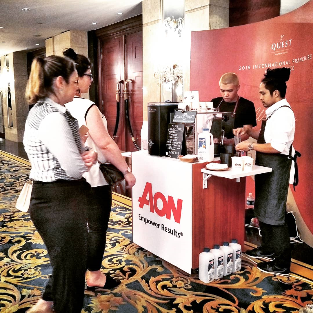 AON Conference 1st Station