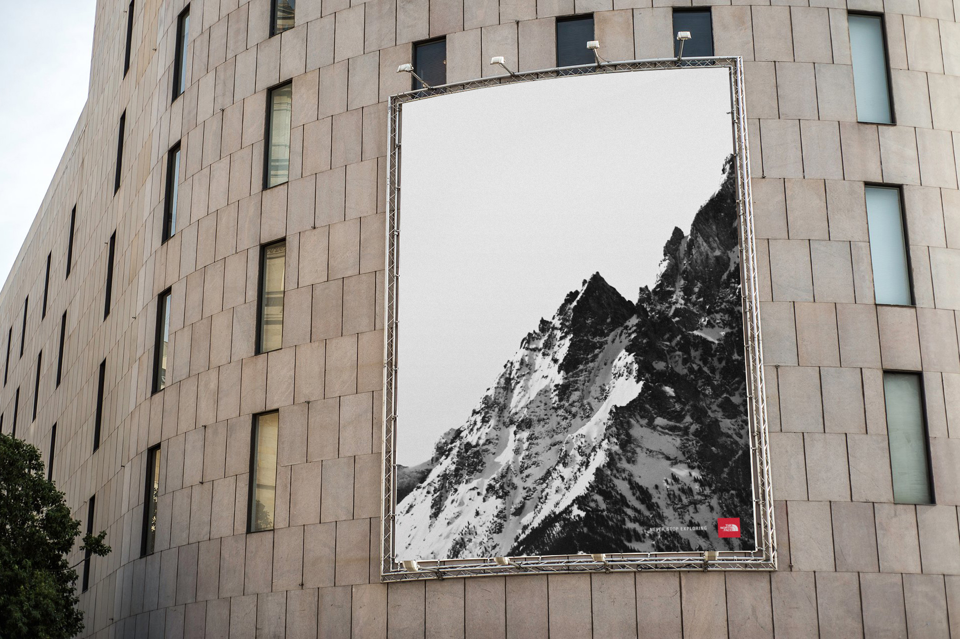 BILLBOARD _ THE NORTH FACE