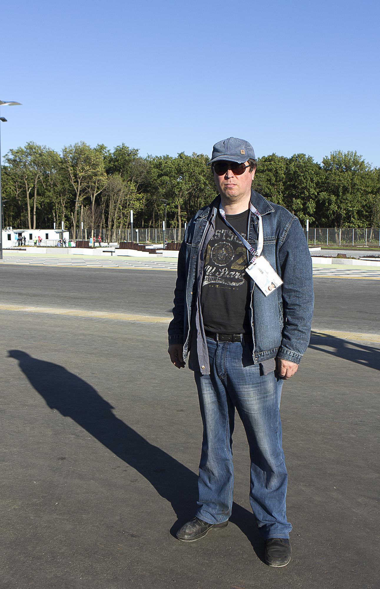 Mikhail Matveyev - opposition representative in the Parlament of Samara for  Huffington Post Spain