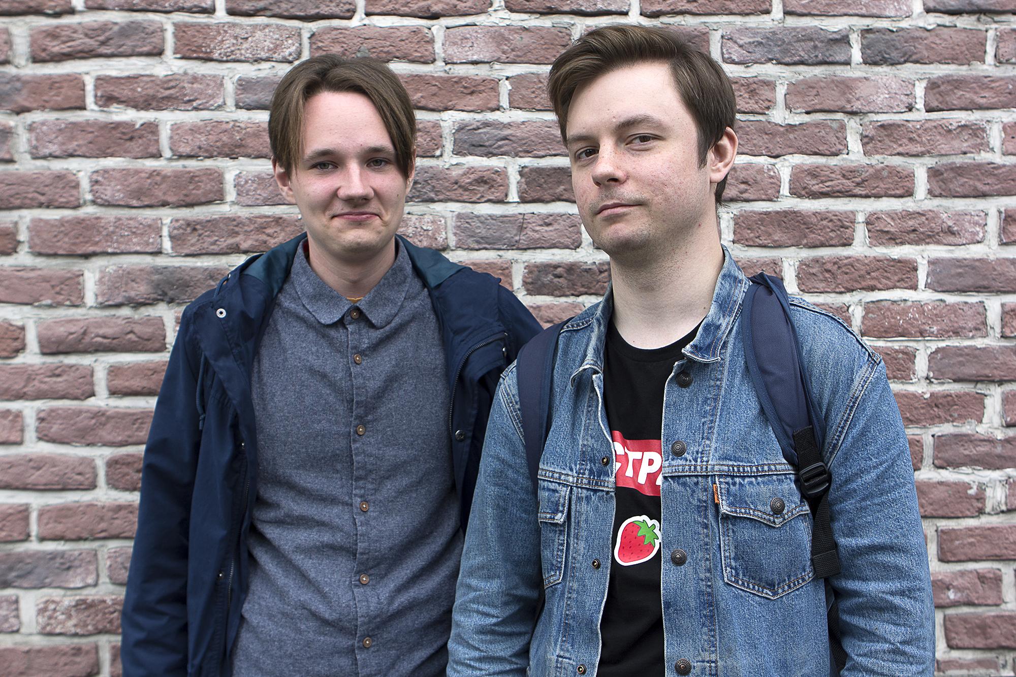 Members of Democratic Movement Vesna - Bogdan & Fryderyk -for  Huffington Post Germany