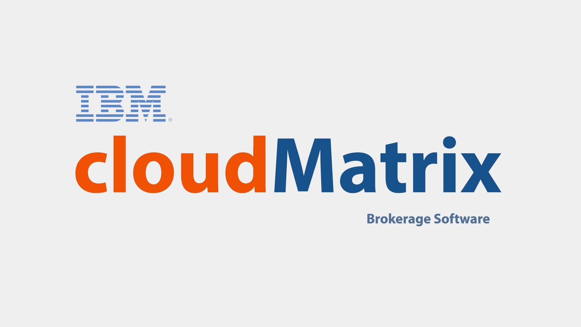 IBM CLOUD MATRIX   tap to play