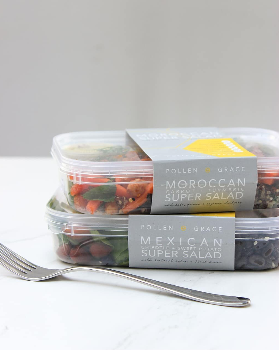 Pollen+Grace Super Salads Range