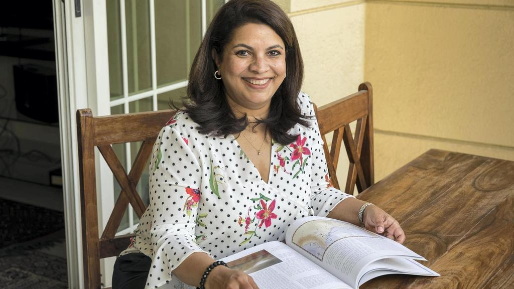 Francesca Affleck has written an English language history of the UAE and its culture. Antonie Robertson / The National