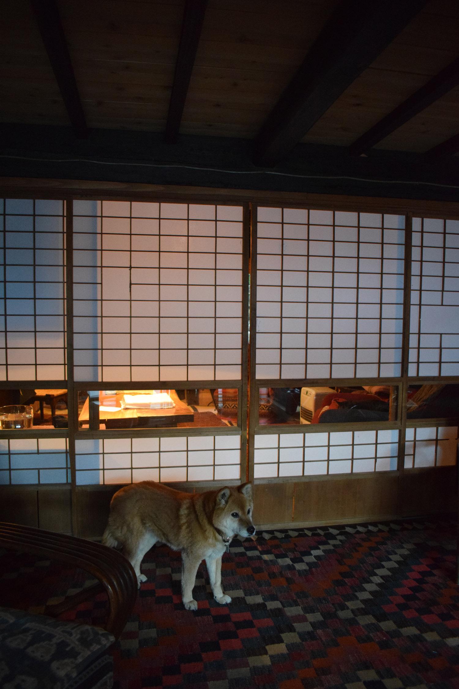 Fujino farmhouse - inside