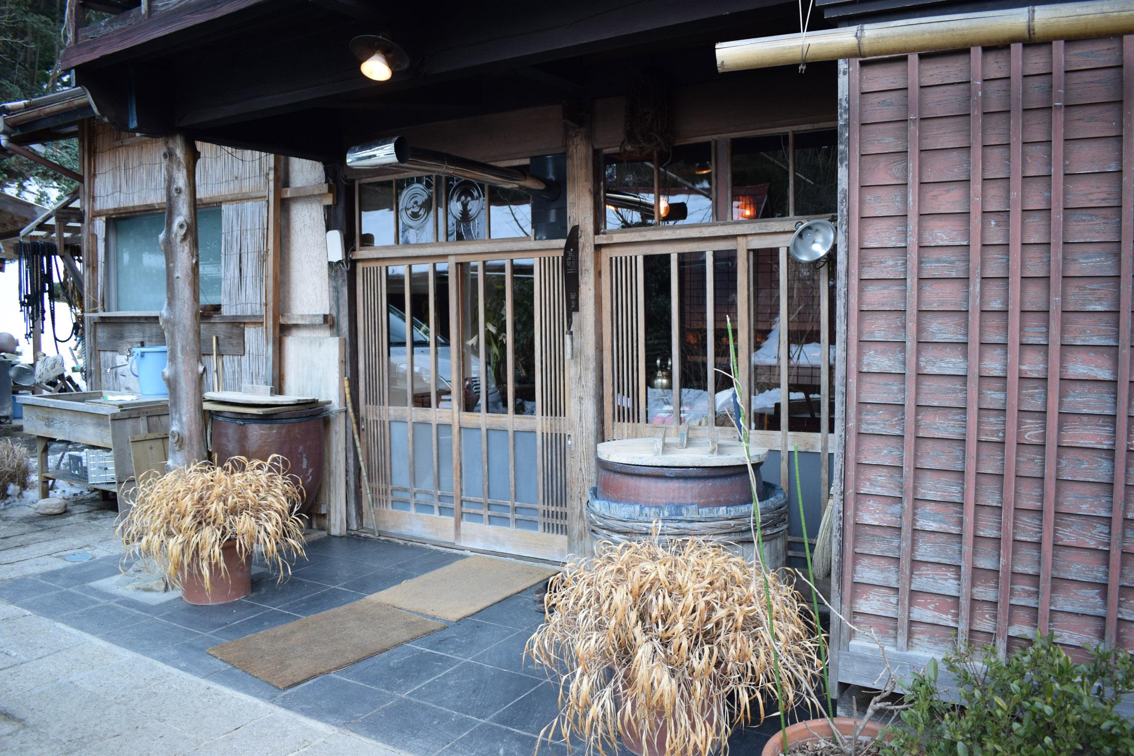 Fujino farmhouse with indigo vats