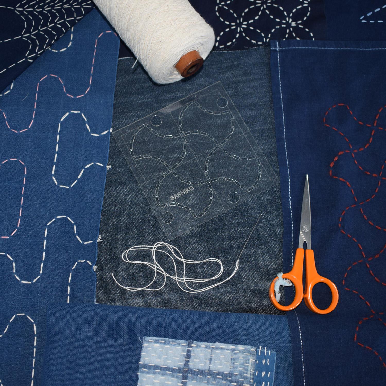 Sashiko - tools and fabrics Square crop.jpg
