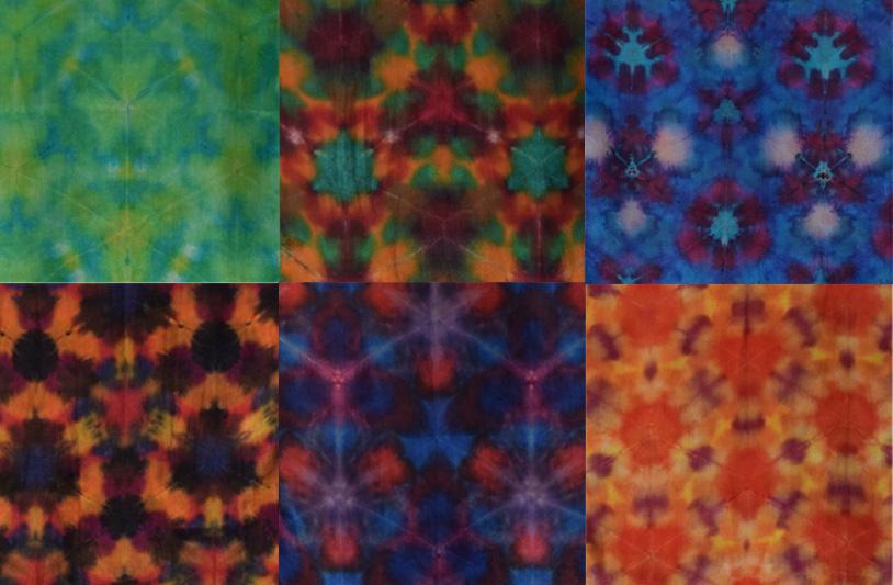 Romor Designs Kaleidoscope shibori silk scarves banner.jpg