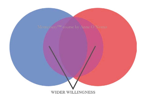 Anne O Nomis's concept of shared interests & wider willingness