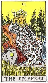 The Empress tarot card