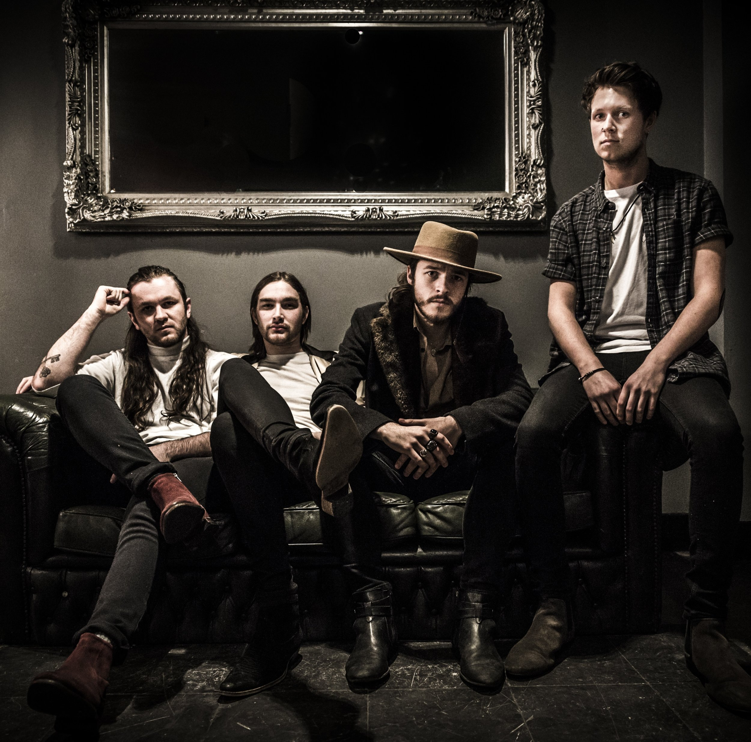 ARTIST/ TREMMORS - Bringing the combined sound of The Black Keys, Tom Waits and Them Crooked Vultures to northern England, Tremmors then throw in some desert rock edge and it's good to go.Think dark menacing tones combined with powerful vocals and stylish songwriting.