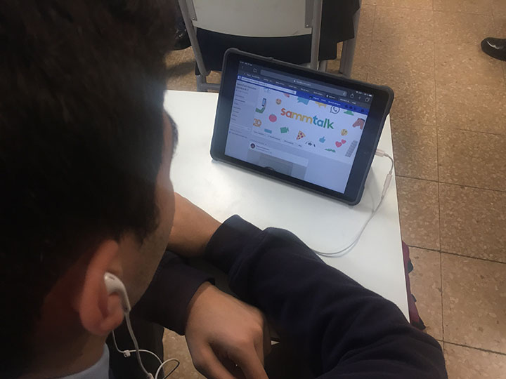A un pupitre de distancia - Colegio Munabe School Blogtext in Spanish